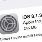 Apple: Das ist neu an iOS 8.1.3 und OS X 10.10.2