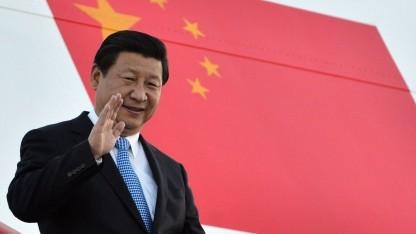 Chinas Präsident Xi Jinping: Gespräche mit dem Komitee für Cybersicherheit