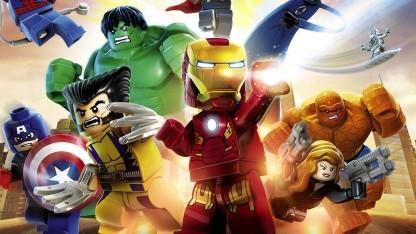 Artwork von Lego Marvel Super Heroes