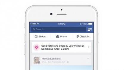 Facebook probiert mit Place Tips eine neue Funktion aus.