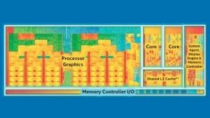 Ein Broadwell-U mit zwei CPU-Kernen und GT3-Grafikeinheit