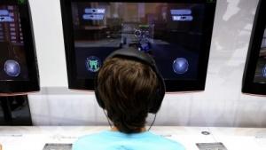 Jugendlicher auf der Gamescom 2013