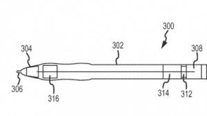 Apples Stylus in der Patentschrift.