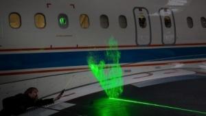 DLR-Forschungsflieger mit Lasermesssystem: Tanz der Wassertröpfchen