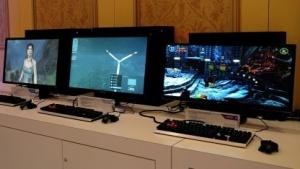 Die ersten Freesync-Monitore im Betrieb