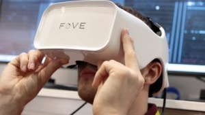 Das Fove Head-mounted Display mit Eye Tracking
