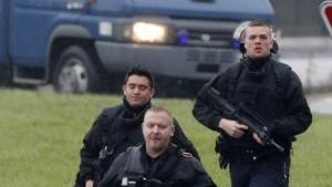Jagd auf die Attentäter: Verhindern konnte die französische Polizei den Anschlag auf Charlie Hebdo nicht - trotz Vorratsdatenspeicherung.