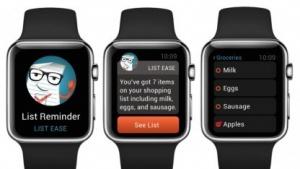 Marsh-App auf der Apple Watch