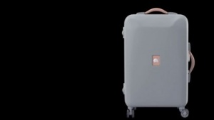 Der Delsey Pluggage ist ein vernetzter Koffer.
