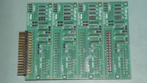 Die Platine des Floppy-Controllers