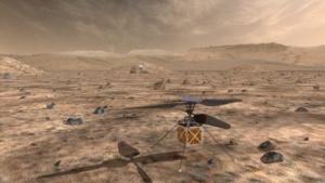 Soll bald auf dem Mars fliegen: Minihelikopter der Nasa