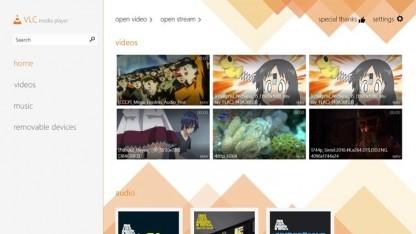 VLC für Windows 8 im Store von Microsoft