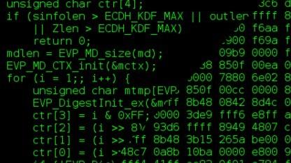 Stimmt der Quellcode mit dem Binärcode überein?