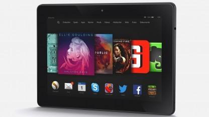 Amazons Fire Tablets verkauften sich 2014 deutlich schlechter als im Vorjahr.
