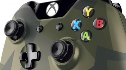 """Controller der Xbox One im """"Camouflage""""-Design"""