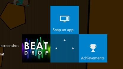 Teil des ersten Screenshots auf einer Xbox One