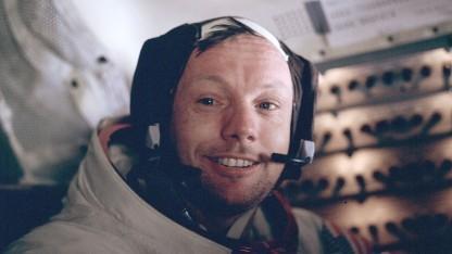 Neil Armstrong (nach einem Mondspaziergang): einigen Krempel vom Mond mitgebracht