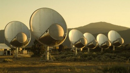 Radioteleskop ATA: Nur lauschen oder auch rufen?
