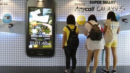 Mädchen in Südkorea