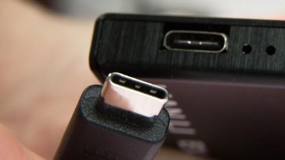 Der neue Stecker Typ C und der dazugehörige Anschluss