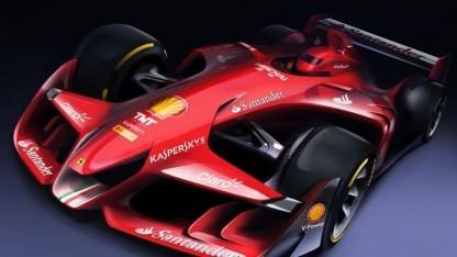 Ferraris Konzeptauto: mehr Sportwagen als Formel-1-Bolide?