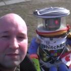 Trampender Roboter: Hallo Hitchbot!