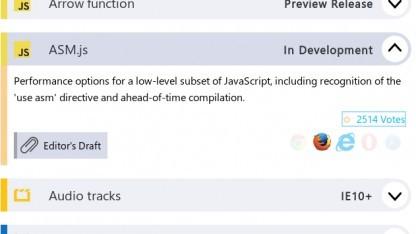 ASM.js ist offiziell in Entwicklung.