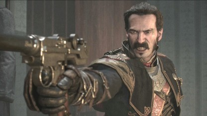Screenshot von Sir Galahad in The Order 1886