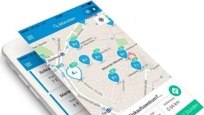 Parkpocket für Android und iOS