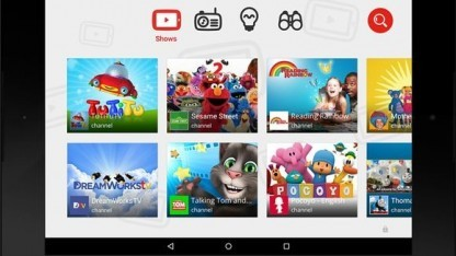 Screenshot der App Youtube Kids