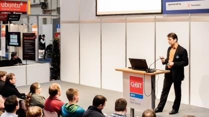 Peer Heinlein auf Open Source Forum 2013