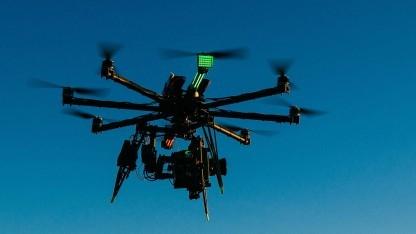 Arri Alexa Mini an einer Drohne