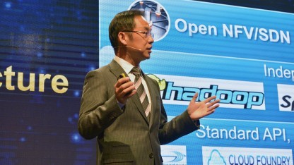 Ryan Ding, Huawei President Products and Solutions