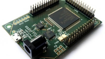 Die Easy-FPGA-Platine