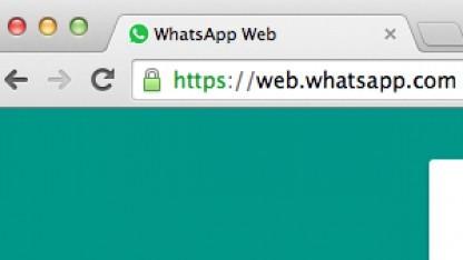 Webclient: Whatsapp läuft unter Firefox und Opera