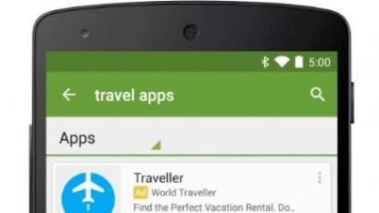 Werbung in der App-Suche des Play Stores