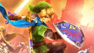 Artwork von Link in Hyrule Warriors
