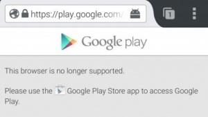 Android-Nutzer können mit Firefox nicht mehr ohne Weiteres auf den Play Store zugreifen.