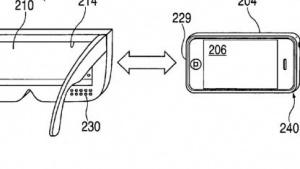 Apples VR-Brille in der Patentschrift
