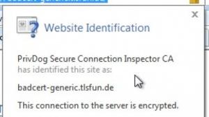 PrivDog ersetzt Zertifikate - und gefährdet die Sicherheit des Nutzers.