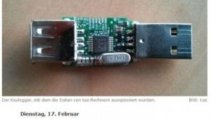 Die taz berichtet ausführlich über die Keylogger-Attacke auf ihre Rechner.