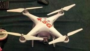 Drohne soll niedrige Latenzzeiten im Mobilfunk demonstrieren.