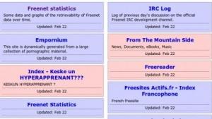 Freenet ist ein P2P-Netzwerk für den anonymen Datentausch.