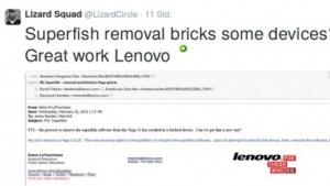 Die Hackergruppe Lizard Squad hatte kurzzeitig die Lenovo-Domain übernommen.