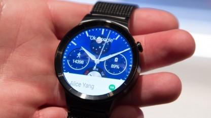 Huaweis Smartwatch erscheint Ende September 2015.