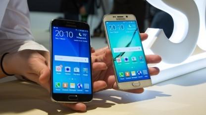 Für die Modelle Galaxy S6 und Galaxy S6 Edge verzeichnet Samsung Rekordbestellungen.