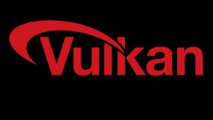 Logo des Vulkan-API