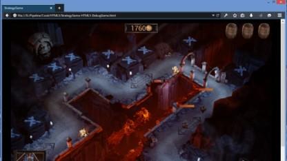 Unreal-Demo in der 64-Bit-Variante des Firefox unter Windows.