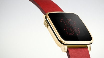 Pebble hat es in Apples App Store geschafft.