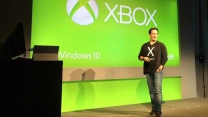 Phil Spencer, Head of Xbox bei Microsoft, auf der GDC 2015